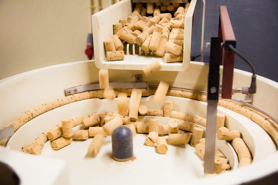 Natural cork wine stoppers take less CO2 to produce than synthetic alternatives