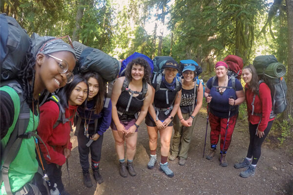 BCM Girls Adult Mentorship 7 Day Expedition Trip log.