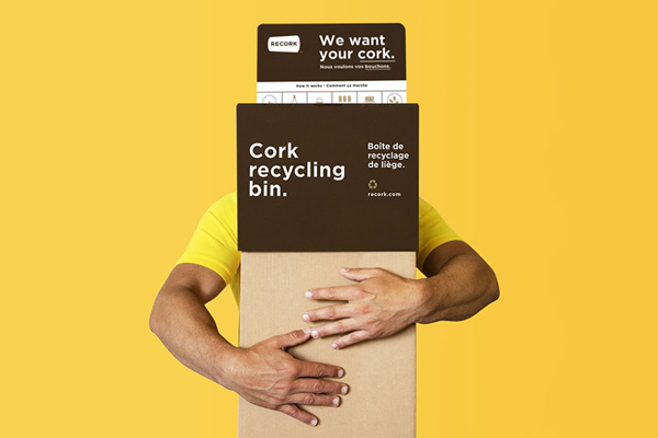 The ReCORK Cork Recycling Bin.