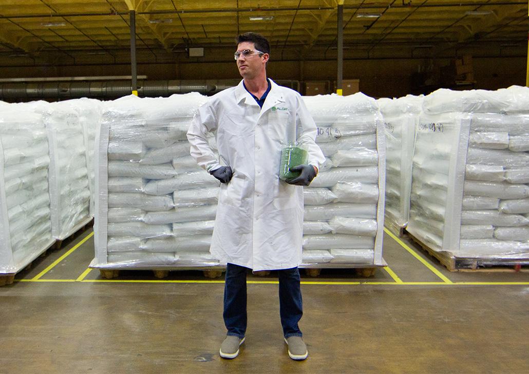 Bloom Algae Foam factory