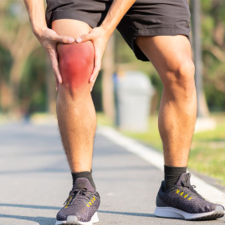 Running with    JOINT PAIN